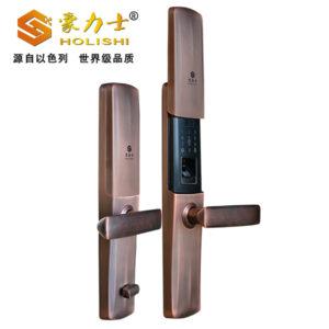 豪力士D9001F智能指纹密码锁